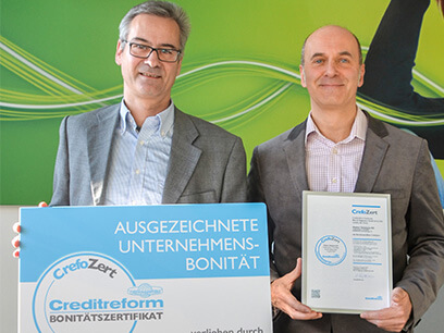 "Bonitätszertifikat ""Crefozert"" für Asseco Solutions erneut verlängert"