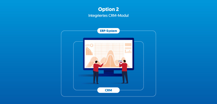 Integriertes CRM-Modul