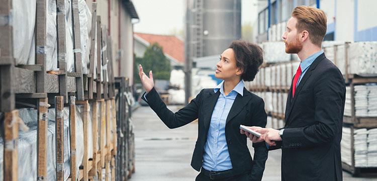 Kunden- und Auftragsdaten sollten im Außendienst immer griffbereit sein.