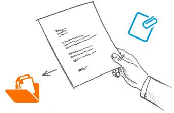 Dokumentenmanagementsystem per Drag & Drop