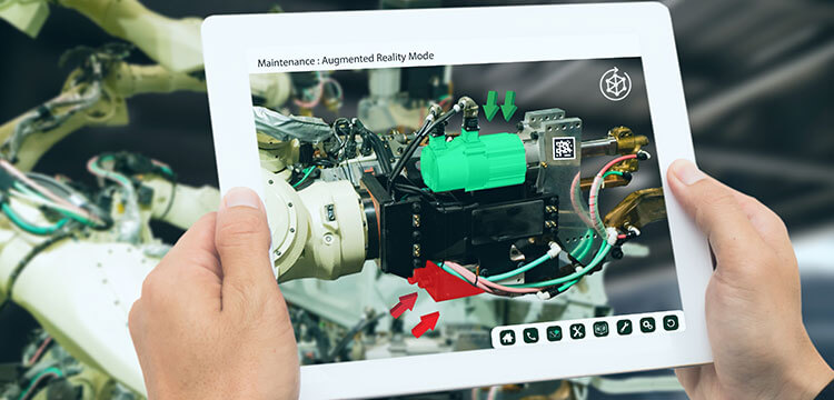 Augmented Reality ist eine Zukunftstechnologie, die großes Potential für Unternehmen birgt.