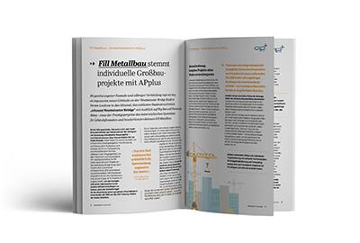 APplus ERP-System Anwenderbericht: Metallbauer Fill