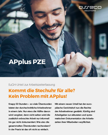 Asseco Solutions PZE-Flyer