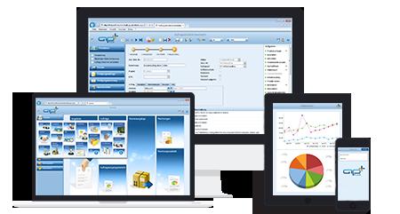 Keine Brüche des Informationsflusses, dank ERP Software